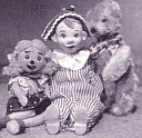 Andy Pandy, Looby Loo and Teddy