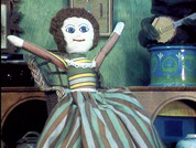 "Madeleine the rag-doll in SmallFilms' ""Bagpuss"""