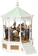 The Bandstand with figures