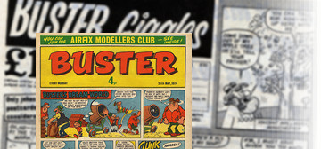 "Did ""Mad""s Don Martin draw for ""Buster"" comic?"