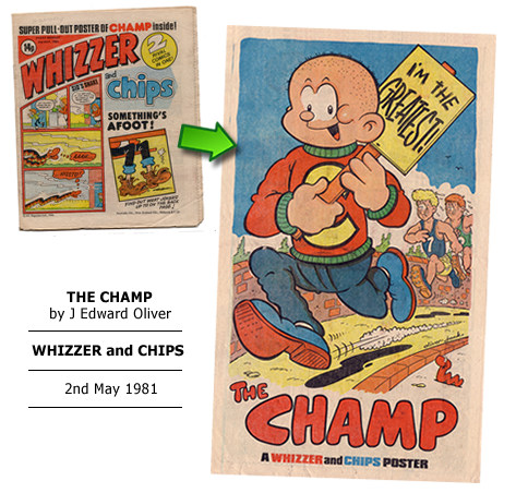 """The Champ"" poster by J Edward Oliver"