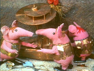 """The Clangers"" from SmallFilms"