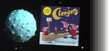 The Clangers get their own step-by-step book!