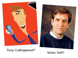 Tony Collingwood Vs Victor Volt - Can you spot the difference?