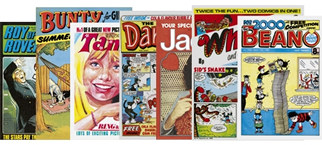 Free classic comic reprints in The Guardian and The Observer!