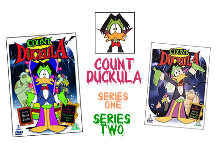 Toonhound's Count Duckula Series one & Two DVD Giveaway!