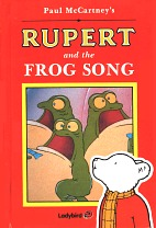 Rupert And The Frog Song book