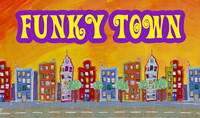 Funky Town - coming soon from Honeycomb Animation...