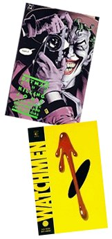 'The killing Joke' and 'Watchmen'