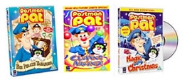 Postman Pat specials on DVD