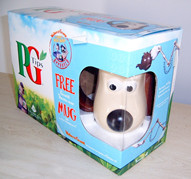 PG Tips pack + Gromit Mug