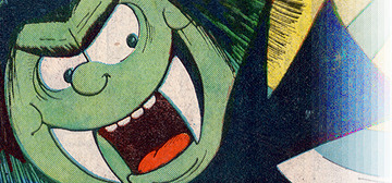 """Draculass"" flies in from ""Monster Fun Comic"" (Fleetway/IPC/Egmont)"