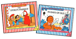A trio of Raggy Dolls books...
