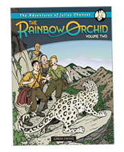 """The Adventures of Julius Chancer: The Rainbow Orchid - Volume Two"" by Garen Ewing, published by Egmont Books"