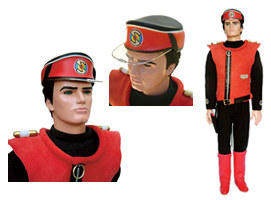 Captain Scarlet Replica Puppet - order yours now from Forbidden Planet!