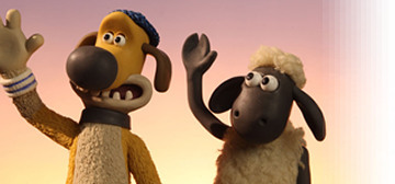 All hail Shaun the Sheep... an Aardman Animation production .