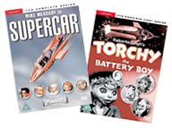 Supercar and Torchy on DVD