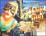 Tank Girl quad movie poster