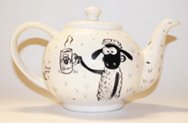 Shaun the Sheep teapot