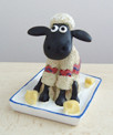 Shaun the Sheep figure