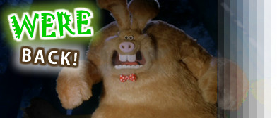 "Now we're looking at the hidden detail in ""Wallace & Gromit: The Curse of the Were-Rabbit"" (Aardman/DreamWorks)"