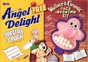 Angel Delight: Face Invention Kit  - Wallace