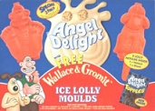 Angel Delight: Ice Lolly Moulds - Wallace & Shaun